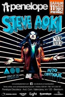 Cartel Steve Aoki