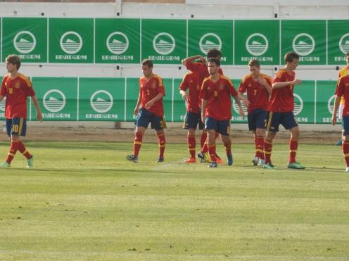 España vs Paraguay 16