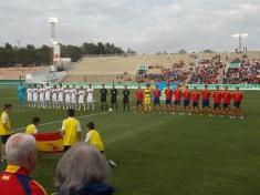 España vs Paraguay 7