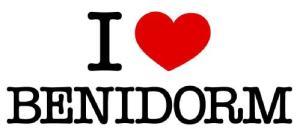 I love Benidorm
