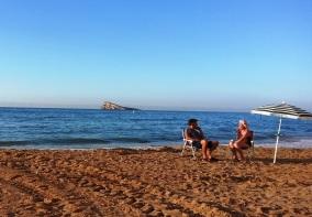 Entrevista en Playa Levante