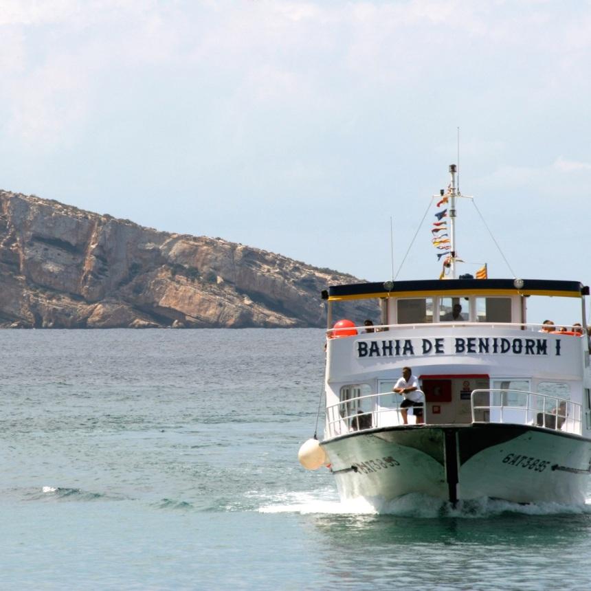Isla de BENIDORM Boat Trip 2