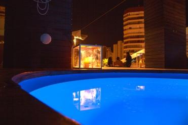 Terraza Chill Out en la última planta del Hotel Agir Benidorm