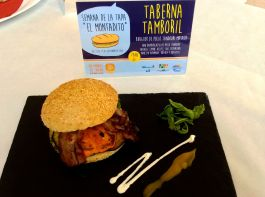 Semana de la Tapa Benidorm: Burguer de Pollo Tandori Masala, Taberna Tamboril