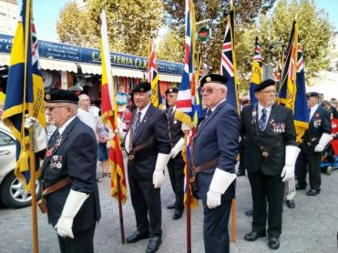 """enidorm ha acogido hoy los actos de la conocida """"Poppy Appeal"""" que organiza The Royal British Legion"""