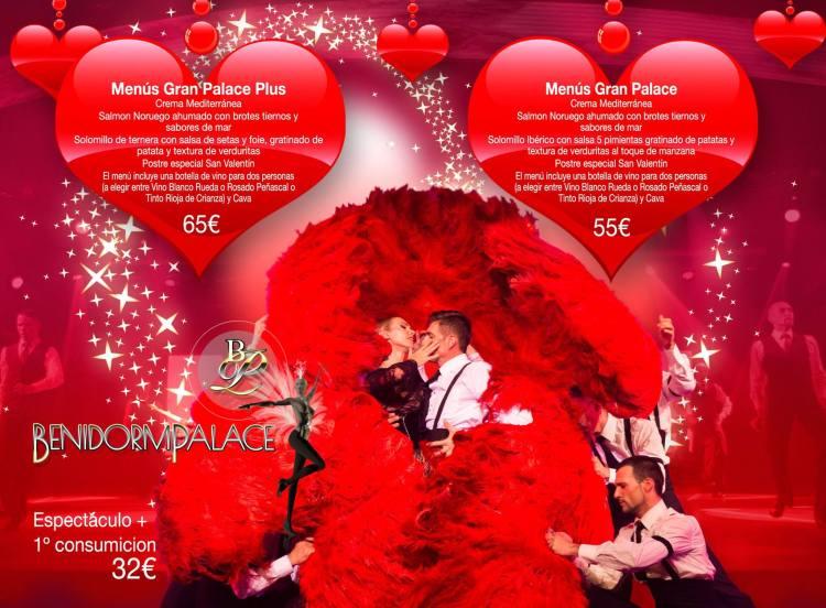 Gala San Valentín Benidorm PAlace