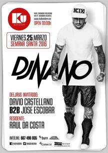 Dj Nano estará en la Discoteca KU Benidorm deleitándonos con la música electrónica más potente del panorama nacional.
