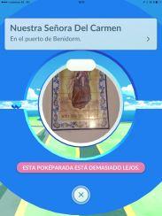 Parque de Elche Pokeparada Nuestra Señora del Carmen #BenidormPokemonGo