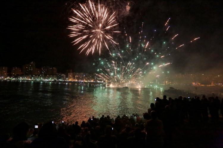 Miércoles 16 Castillo de Fuego Fiestas Patronales Benidorm