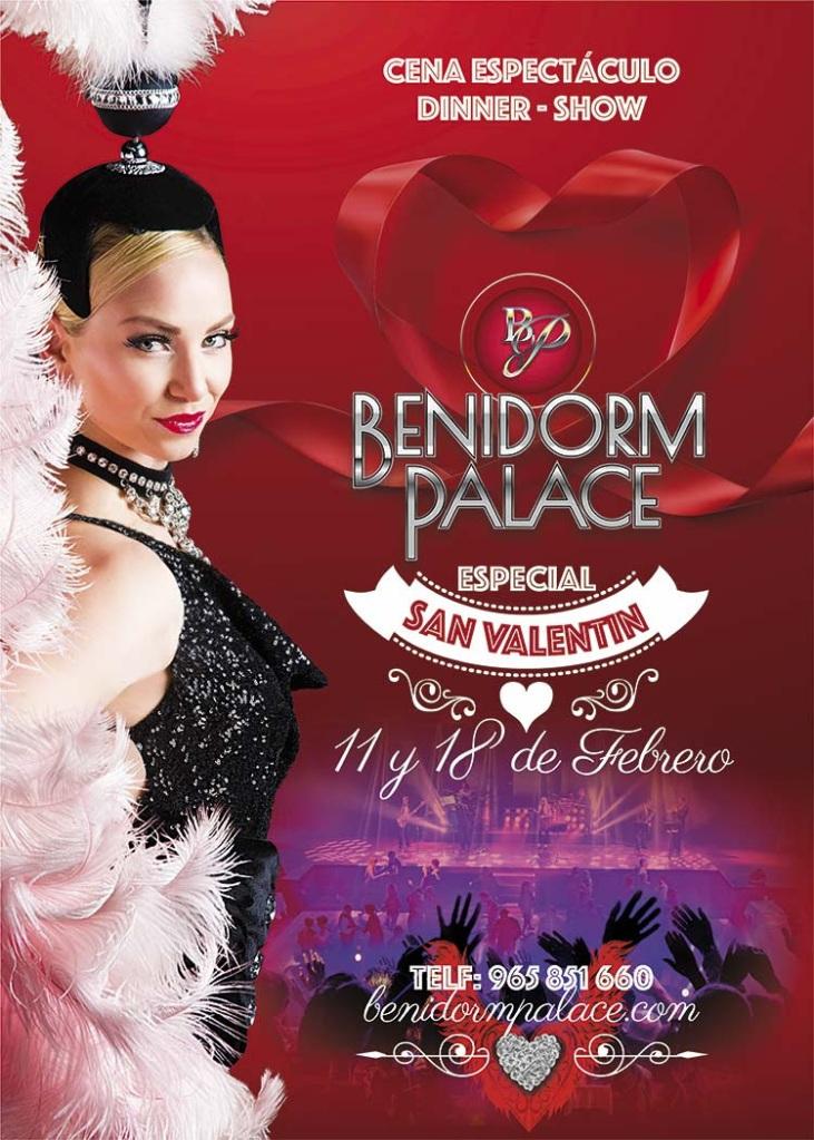 No te pierdas la cena especial para enamorados de el Benidorm Palace