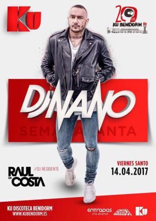 DJ Nano, un grande de los grande, un tipo salado como nadie y con una energía única en el planeta tierra visita de nuevo KU Benidorm, su segunda casa.