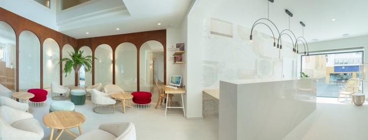 Recepción Hotel Canfali