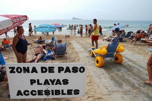 Benidorm Destino Turístico Accesible 2018 (1)
