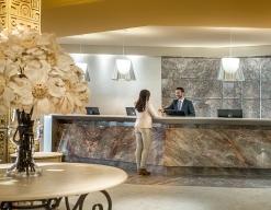 Recepción Hotel Don Pancho