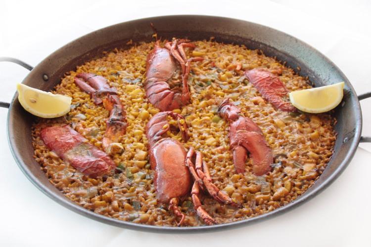 bolikki - arroz con bogavante